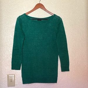 Green sweater from Talbots